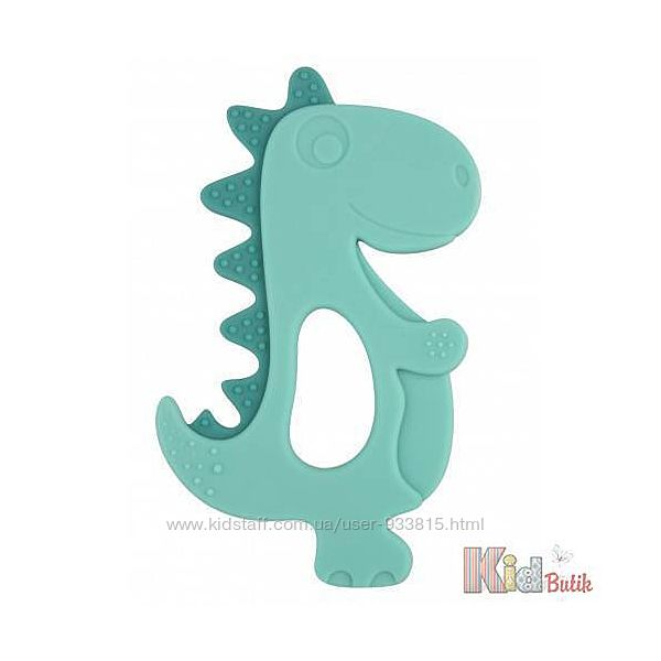Прорезыватель-игрушка силиконовая для зубов Динозавр Canpol