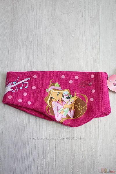 Повязка розового цвета для девочки Winx