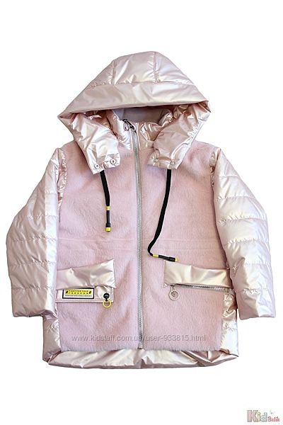 Куртка демисезонная жемчужно-розового для девочки Venidise