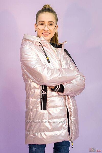 Куртка жемчужно-розового цвета для девочки Venidise
