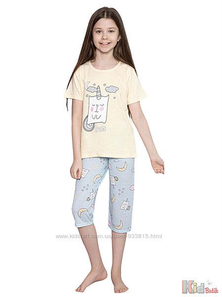 Пижама футболкабриджи с единорогом и луной Dreams Minimoon Оптом и в розницу