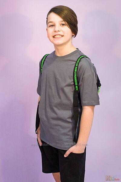 Футболка для мальчика  рюкзак Marions