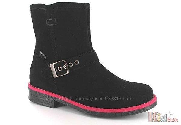 Ботинки для девочки на флисовой подкладке Bartek