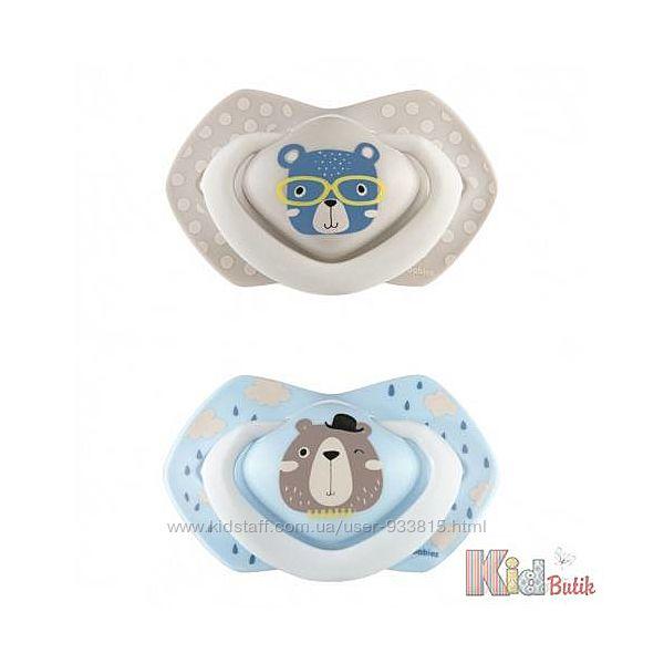 Пустышка силиконовая с милыми мишками Canpol babies