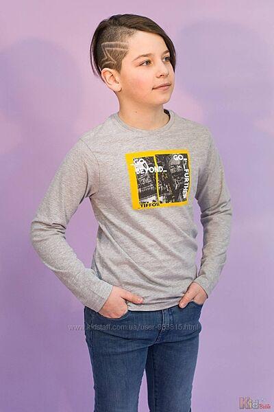 Реглан с интересным изображением для мальчика Tiffosi