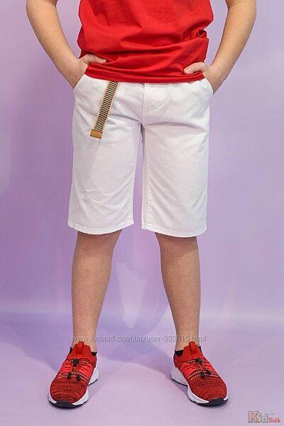Шорты белого цвета для мальчика Tiffosi