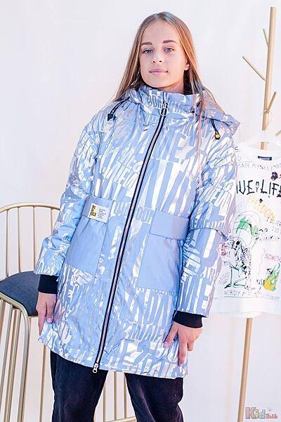 Куртка серебристая для девочки Venidise