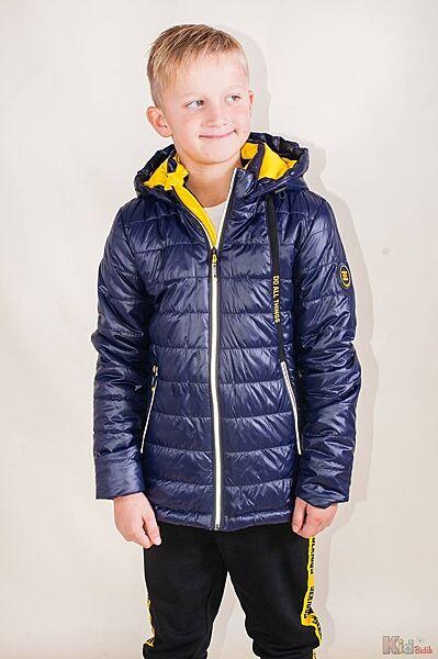Куртка стеганная синего цвета для мальчика Venidise