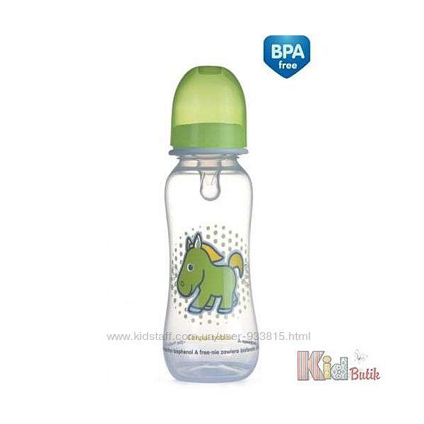 Бутылочка 250 мл с рисунком Canpol babies