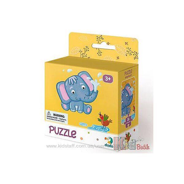 Пазл Слоненок 3 Dodo Toys