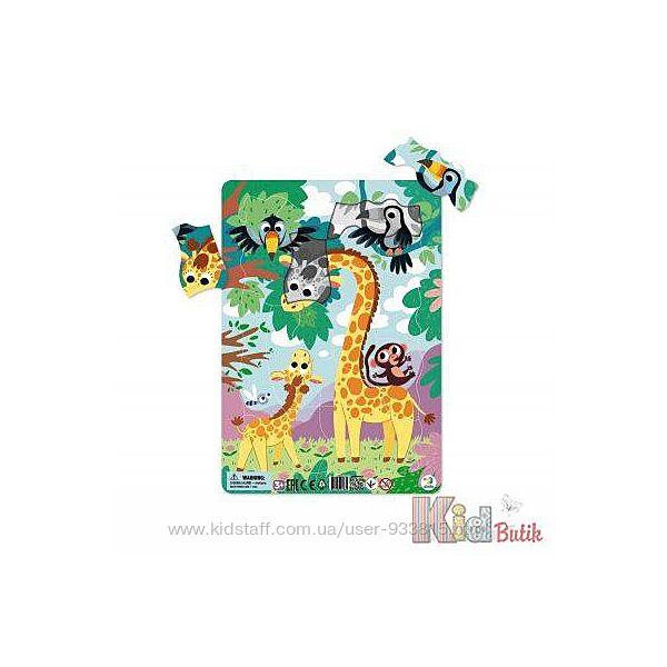 Пазл с рамкой Жираф 3г. Dodo Toys