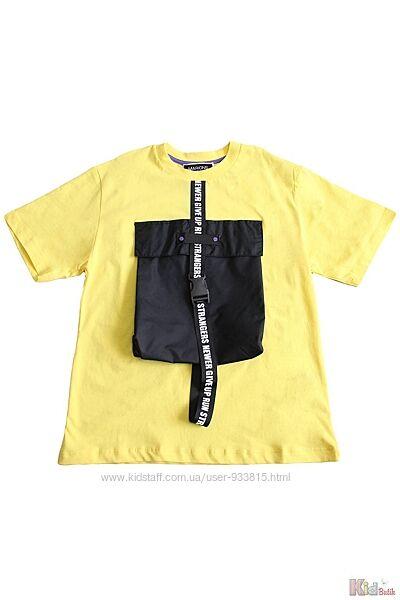 Футболка для мальчика с накладным карманом Marions
