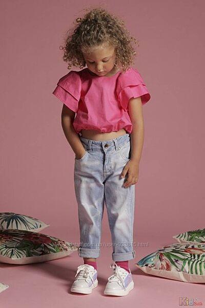 Блузка цвета фуксия FUN & FUN