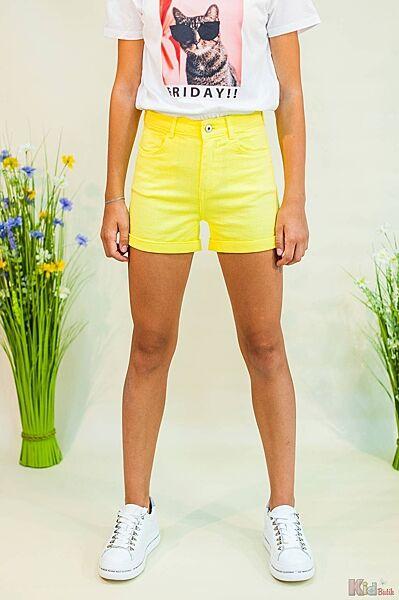 Шорты джинсовые ярко-желтые Tiffosi