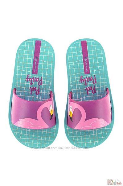 Сланцы с фламинго  для девочки Ipanema