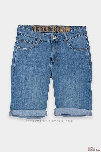 Шорты-бермуды джинсовые для мальчика Tiffosi