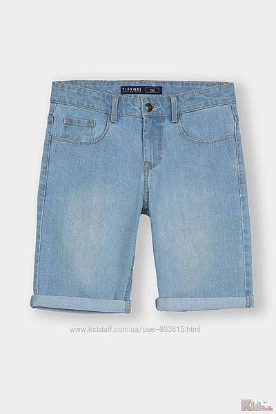 Шорты джинсовые голубого цвета для мальчика Tiffosi