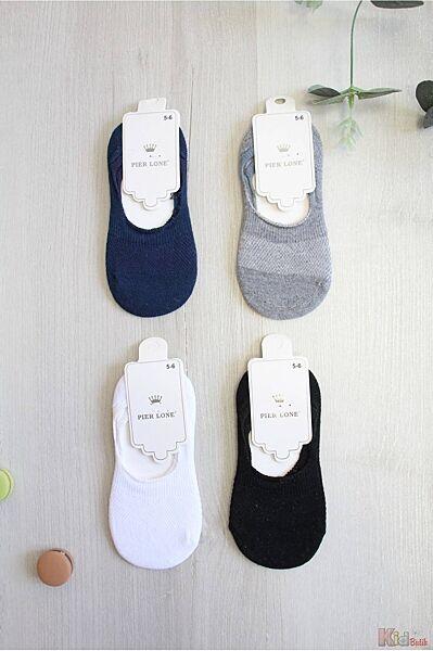 Носки следочки однотонные для мальчика Pier Lone