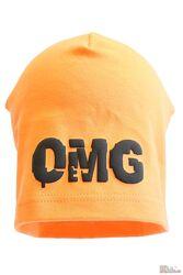 Шапка OMG оранжевого цвета Jamiks