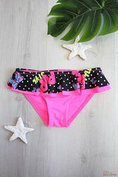 Плавки купальные ярко-розовые для девочки Keyzi