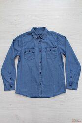 Рубашка из тонкого джинса для мальчика Tiffosi