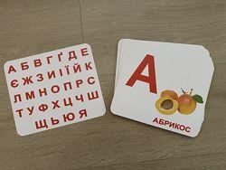 Набор для изучения алфавита 33 карточки