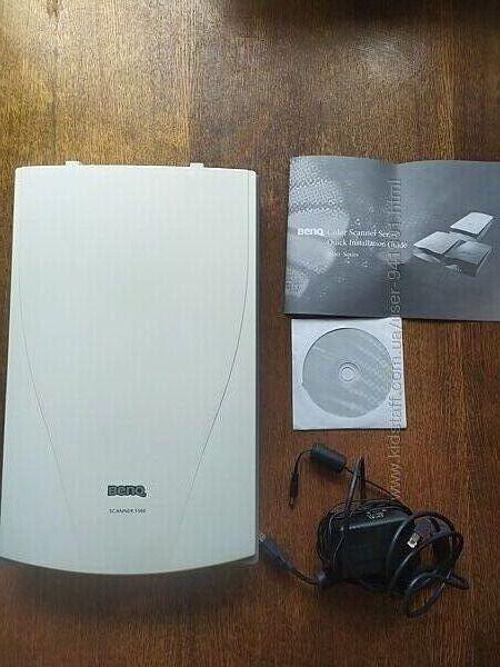 Сканер Benq 5560