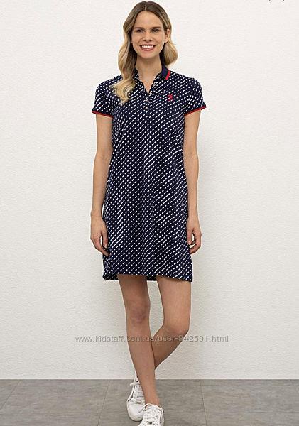 Платье U. S. Polo ASSN, юс поло, оригинал, размер ХС