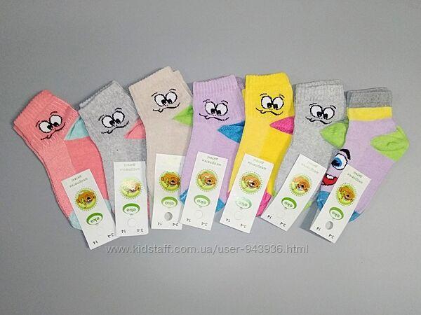 Носки для девочек лето сетка