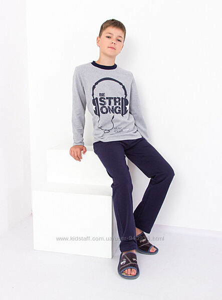 Пижама для мальчика - подростка Music начес