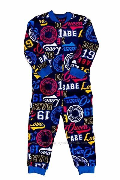 Махровый комбинезон, пижама, кигуруми для мальчика