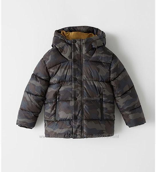 Деми куртка Zara 8 лет 128см