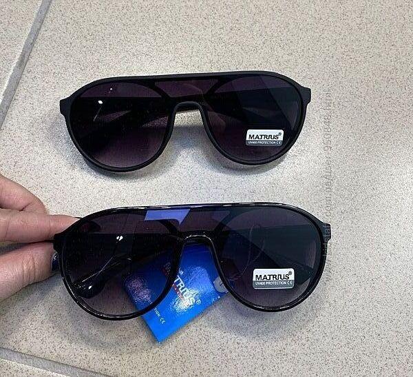 Солнцезащитные очки унисекс авиатор 2021 черные