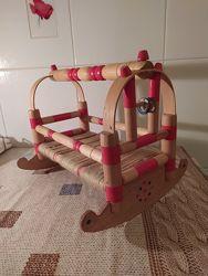 Мебель для куклы, кровать, колыбель