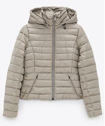 ZARA, оригинал, стеганая куртка деми,   размеры M - L