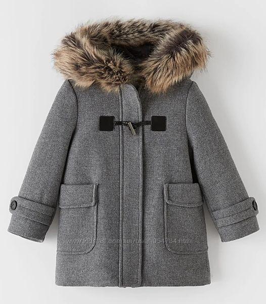 ZARA, оригинал,  пальто размер 140, 152, 164