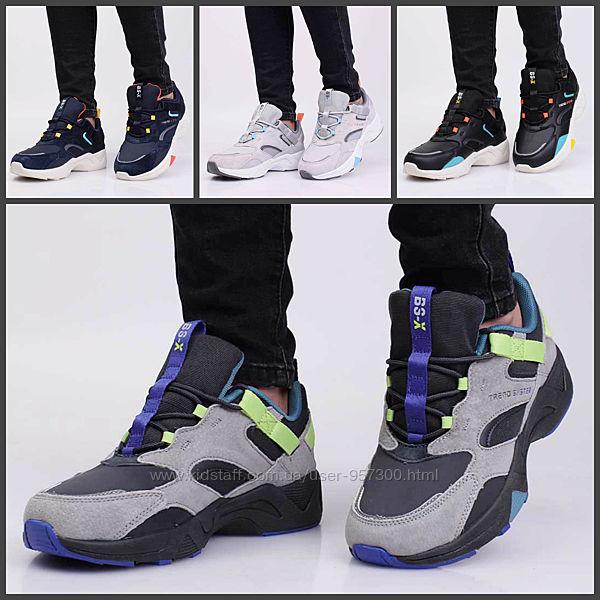 Трендовые спортивные кроссовки ботинки подростковые baas р. 37-41