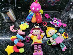 Развивающие подвесные игрушки розвиваючи іграшки Lanaze Playgro littletikes