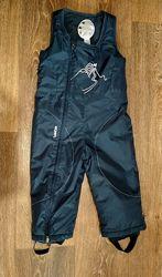 р.86-93, теплющие зимние термо-штаны полукомбинезон