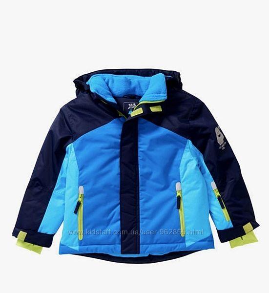 р.98-104, новая теплющая термо-куртка Германия