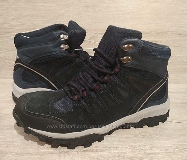 р.38,39,40 непромокаемые треккинговые термо-ботинки Германия