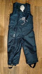 р.102-109, теплющие лыжные термо-штаны полукомбинезон