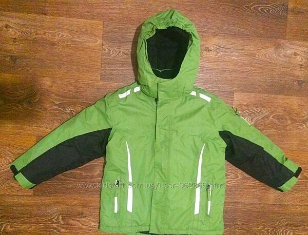 р.110-116 отличная термо-куртка Германия