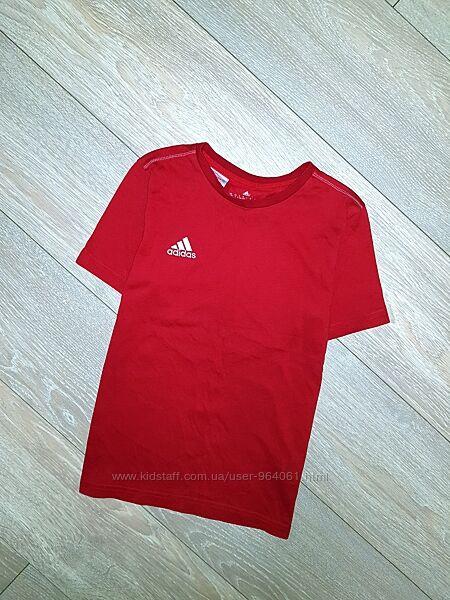 Брендовая футболка на 9-10 лет 140см. Фирма Adidas, оригинал.