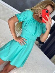 Летнее женское платье разные цвета