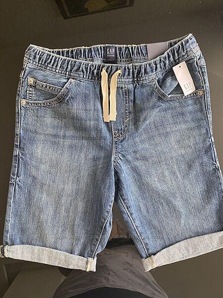 Новые джинсовые шорты GAP для подростка. Оригинал .