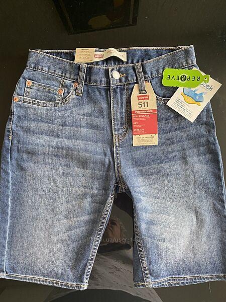 Новые джинсовые шорты LEVIS для подростка. Оригинал.