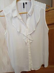 Блузка белая оджи