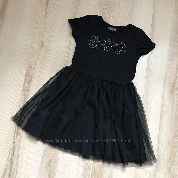Платье с фатином и пайетками RESERVED