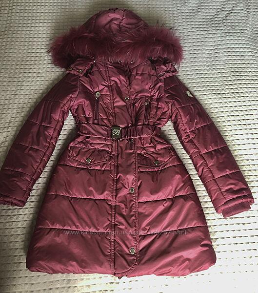 Зимнее пальто пуховик Borelli
